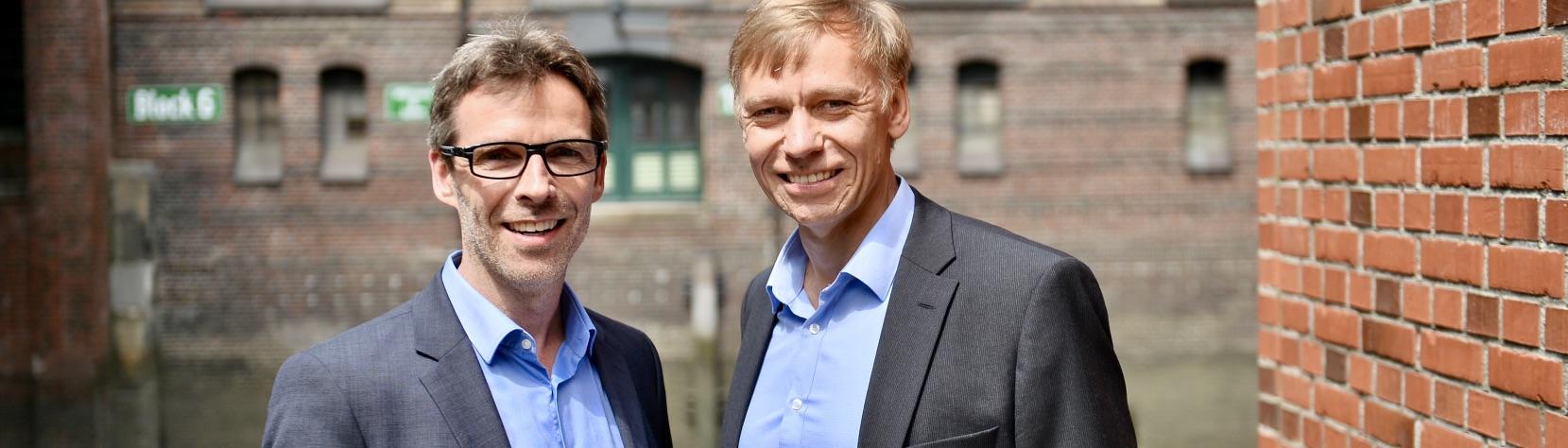 Jörg Schäffken und Jochen Schlicht - Partner von ProModerare